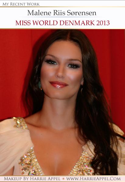 Malene Riis Sørensen - Miss World Denmark 2013