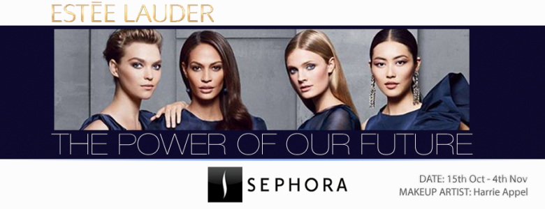 Invitation to The Power Of Our Future - Make-up Event by Estèe Lauder Cosmetics at SEPHORA Denmark