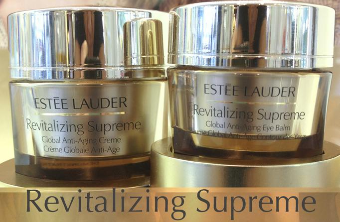 Award Winning Products:  Estée Lauder Revitalzing Supreme Global Anti-Aging Creme