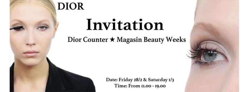 Dior´s Invitation Cover Photo for Facebook