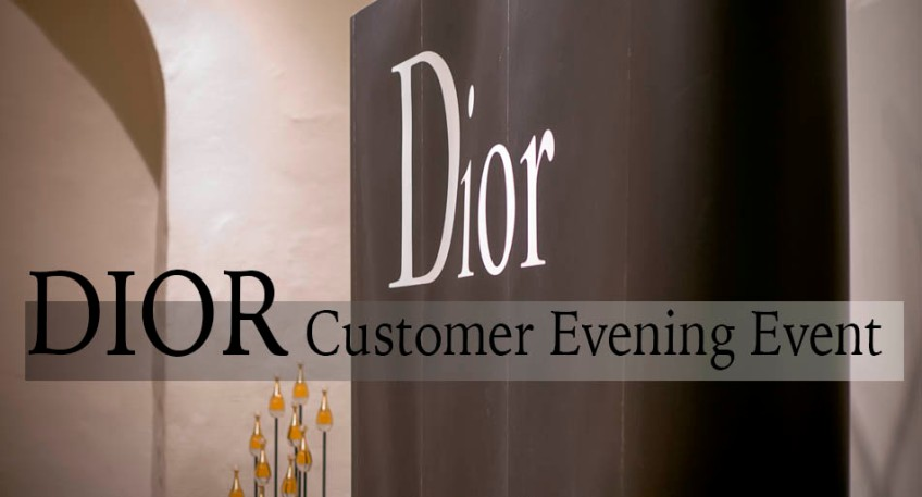 DIOR Customer Evening Event