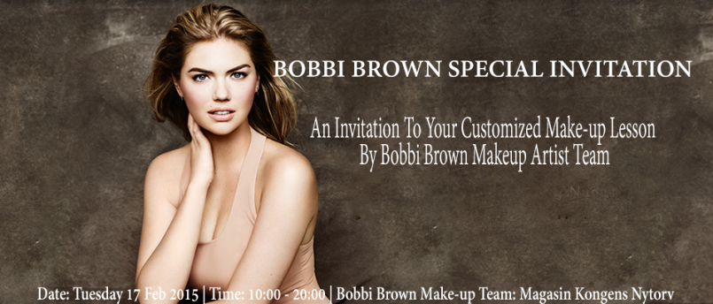 Bobbi Brown Beauty Event 17 Feb