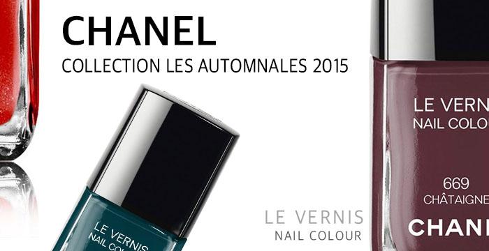 Chanel Le Vernis Nail Coour Les Automnales 2015