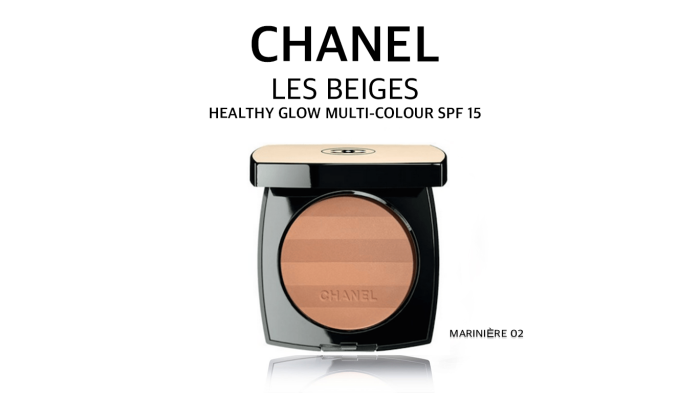 Chanel Les Beiges Healthy Glow Multi-Colour Powder in MARINIÈRE 02 – Summer 2015 Collection
